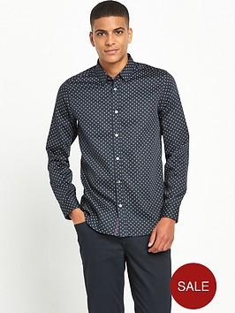 ted-baker-geo-print-long-sleevenbspshirt