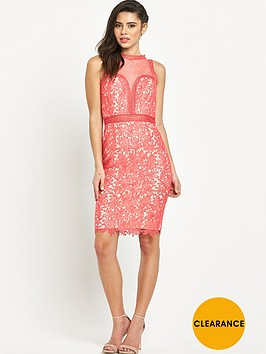 little-mistress-high-neck-lace-bodycon-dress