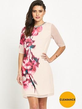 little-mistress-printed-short-sleeve-dress