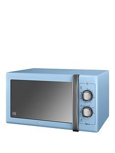swan-25-litre-retro-microwave-blue