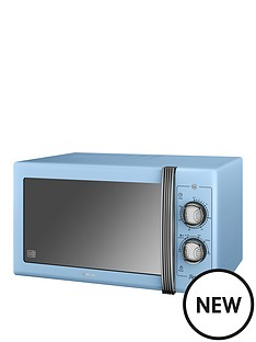 swan-25l-retro-microwave-blue