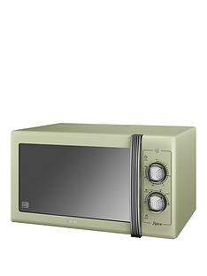swan-25-litre-retro-microwave-green