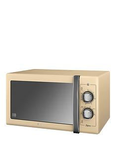 swan-25-litre-retro-microwave-cream