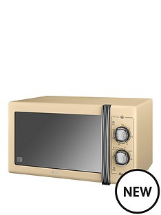 swan-25l-retro-microwave-cream