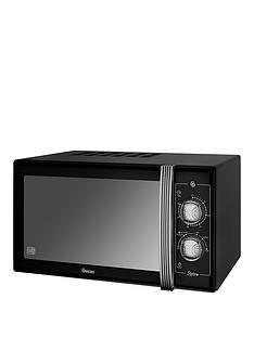 swan-25-litre-retro-microwave-black