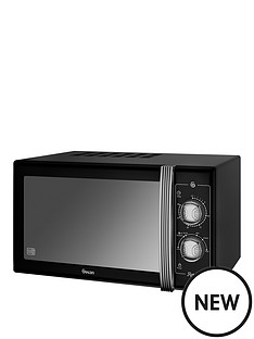 swan-25l-retro-microwave-black