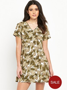 glamorous-printed-shift-dress