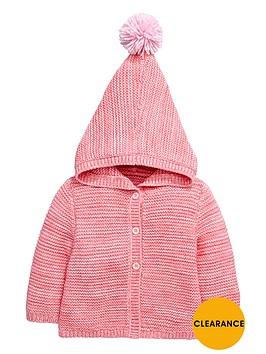 ladybird-baby-girlsnbsphoodednbspknitted-cardigan