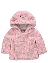 Baby Girls Fleece Bear Jacket