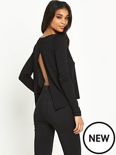 river-island-river-island-split-back-jumper
