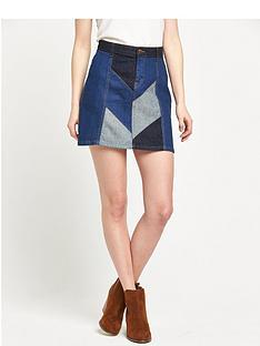 river-island-denim-patchwork-skirt