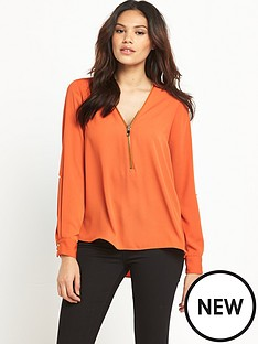 river-island-river-island-zip-front-blouse