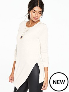 v-by-very-crew-neck-split-hem-asymmetric-jumpernbsp