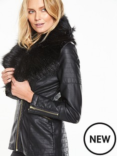 v-by-very-longline-pu-jacket-with-faux-fur-collar