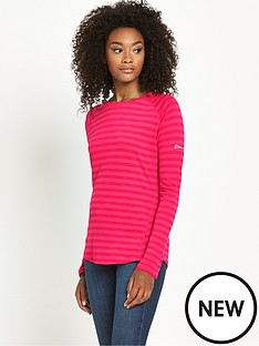 berghaus-tech-long-sleeve-stripe-baselayer-pink