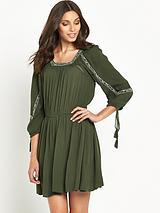 Topeka Square Neck Dress