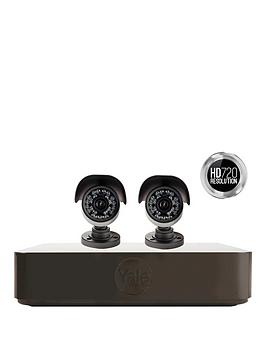 Yale Hd720 Premium 2 Camera Cctv Kit With Smartphone Viewing