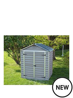 palram-6x5-ft-double-door-skylight-shed