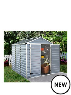 palram-6x8-ft-skylight-double-door-shed