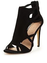 Chelsea Plaited Cut Out Heeled Sandal