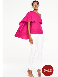 v-by-very-one-shoulder-cape-top