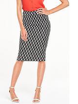 PontePrinted Pencil Skirt