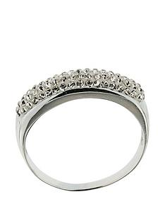 the-love-silver-collection-sterling-silver-crystal-set-3-row-band-ring