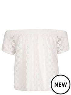 river-island-girls-lace-bardotnbsptop