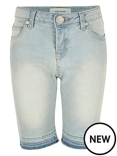 river-island-girls-skinny-denim-knee-shorts