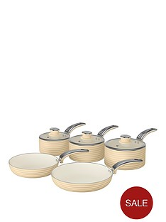 swan-retro-5-piece-pan-setnbspin-cream