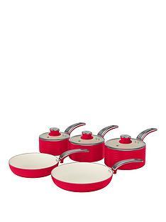 swan-retro-5-piece-pan-set-red