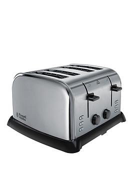 Russell Hobbs 22370 4Slice Stainless Steel Toaster