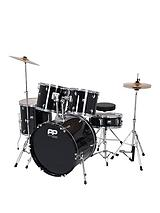Full Size 5 Piece Drum Kit – Black