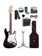 Electric Guitar Outfit - Gloss Black