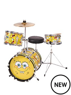 spongebob-squarepants-junior-3-piece-drum-kit