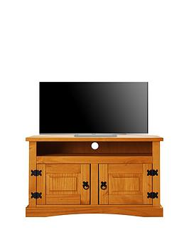 Corona Solid Wood Corner Tv Unit  Holds Up To 40 Inch Tv