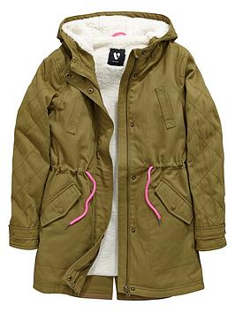 V By Very Girls Hooded Parka