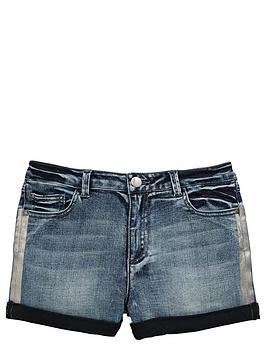 v-by-very-girls-denim-shorts-with-roll-up-and-metallic-stripe