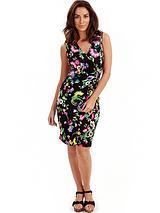 Joe Browns Oriental Wrap Jersey Dress