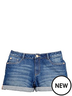 v-by-very-girls-turn-up-denim-shorts