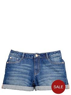 v-by-very-girls-turn-up-denim-shorts