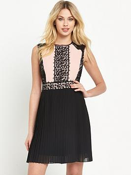 v-by-very-lace-panel-pleat-dress
