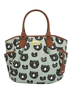 mamas-papas-donna-wilson-three-bears-parker-tote-bag