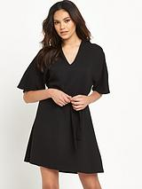River Island Kimono Sleeve Swing Dress
