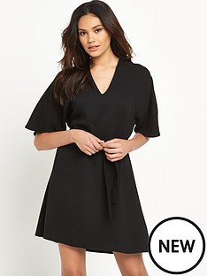 river-island-river-island-kimono-sleeve-swing-dress