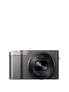 Panasonic Lumix DmcTz100 Digital Camera Wifi 3 Inch Lcd Touch Screen  Silver With Optional Accessory Kit