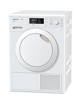 Miele Tkb540Wp 8Kg Load Heat Pump Tumble Dryer  White
