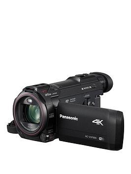 Panasonic Lumix HcVxf990Ebk 4K Hdr Camcorder  Black