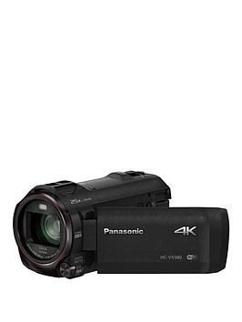 Panasonic Lumix HcVx980EbK 4K Hdr Camcorder  Black