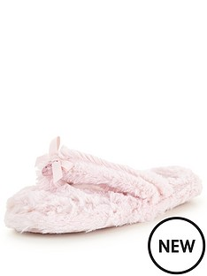 bedroom-athletics-erica-pink-toe-post-slipper